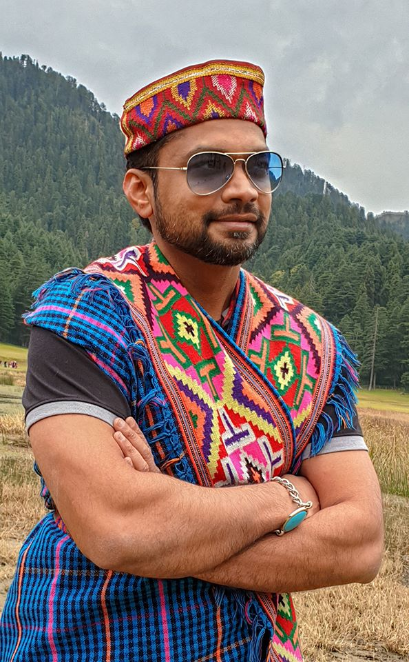 Image may contain: Sharanam Shah, beard, mountain, sky, outdoor and nature